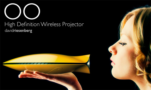 OO - High Definition Wireless Projector by David Riesenberg