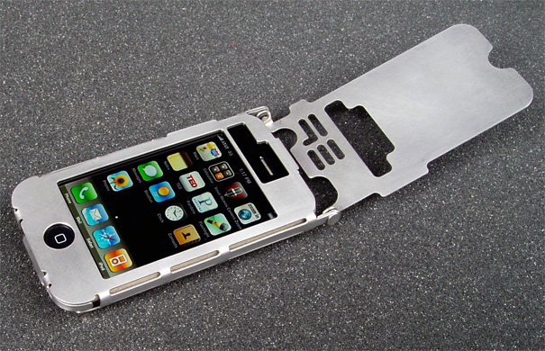 Sheet Metal iPhone Case by Ryan Glasgow for LtdTools