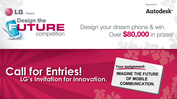 Design a LG Phone That's Not Too Futuristic!