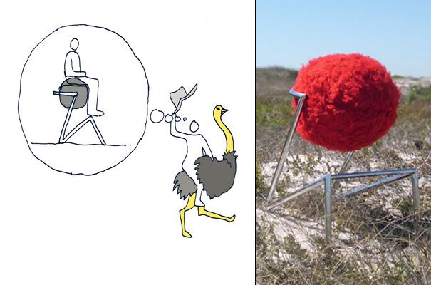 ostrich_barstool