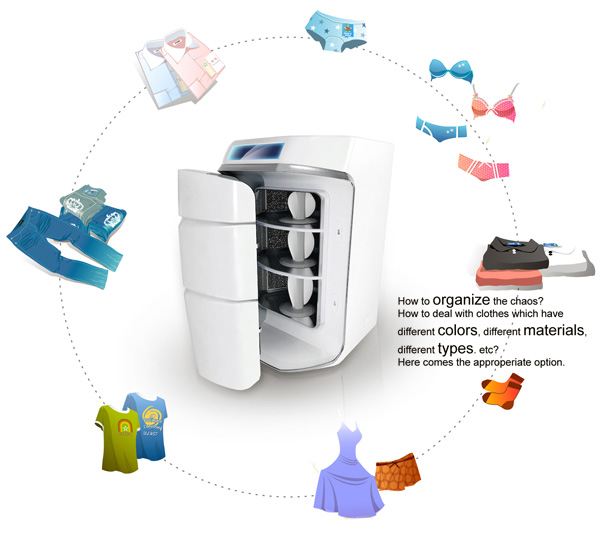 Individual Washer – Washing Machine by Yali Dai