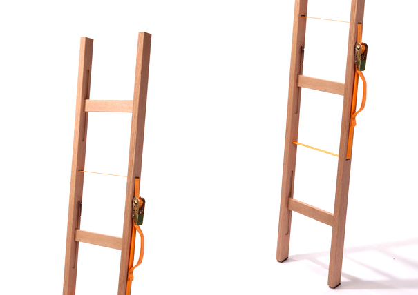 Ladder that you can fold up really small and carry by Itay Laniado
