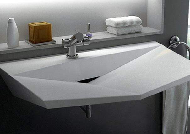 Amazing A Set of Fine Bathroom Sinks by Cactus Designers and Vask o