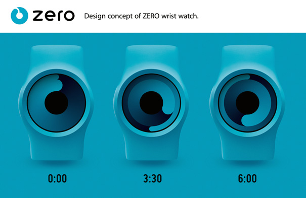 ZERO wrist watch by Robert Dabi