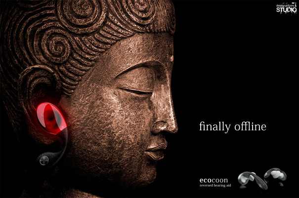 Ecocoon – Reverse Hearing Aid by designaffairs STUDIO