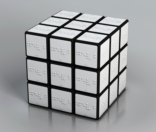 Rubiks Cube For The Blind by Konstantin Datz