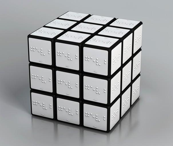 Rubiks Cube For The Blind by Konstantin Datz