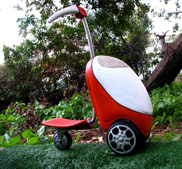 Lawnmower Scooter by Vicky Petihovski