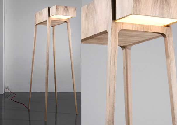 AT-AT Walker lamp furniture from the future by Life Goods for Ormond Editions