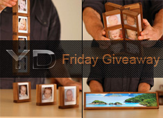 Friday Giveaway: Win FOUR SETS Of GrowFrames by Trevor Elliott