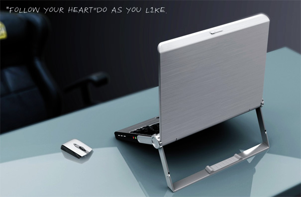 Playing By Heart – Laptop Briefcase by Zhang Shouze