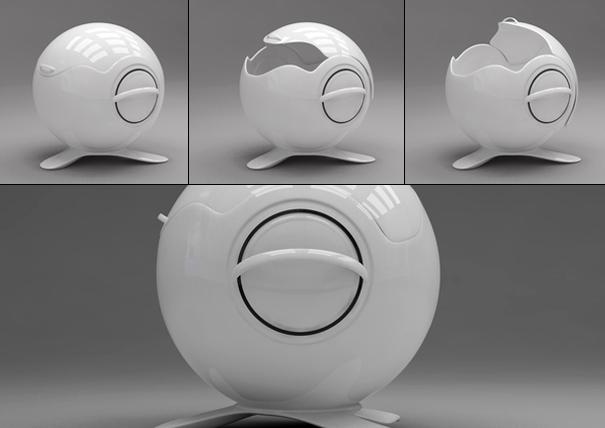 Sphere Tureen by Apostol Tnokovski