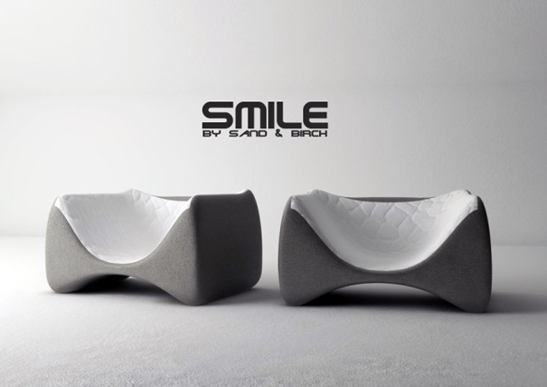 Smile small armchair by Sand & Birch Luxury Design