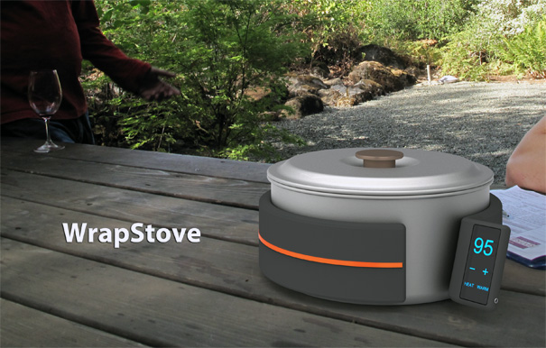WrapStove – Portable Stove For Camping by Wonchul Hwang