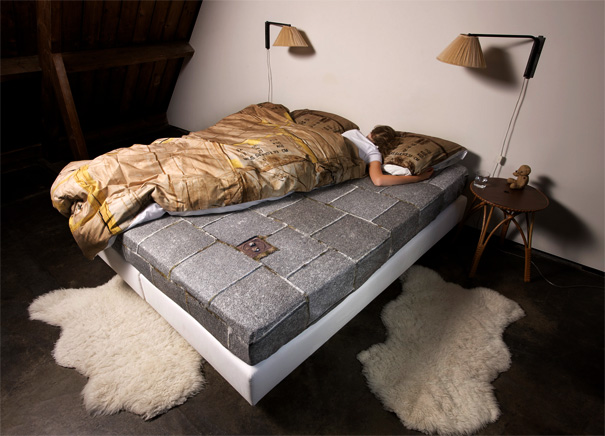 Le-Trottoir Fitted Bed Sheets by Snurk Bedding