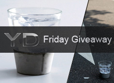 Friday Giveaway: Six City Rain Concrete Glasses To Say Cheers With!