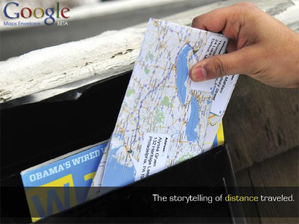 Google Mail Envelopes by Rahul Mahtani & Yofred Moik
