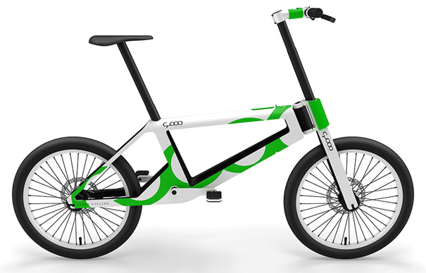 Electric Folding Bike Goes Zoom Zoom