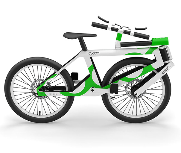 CYOOO -  Folding Cycle Concept by Andi Klug