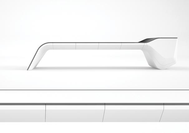 Mono office kitchen concept by Michael Scherger and Dennis Kulage