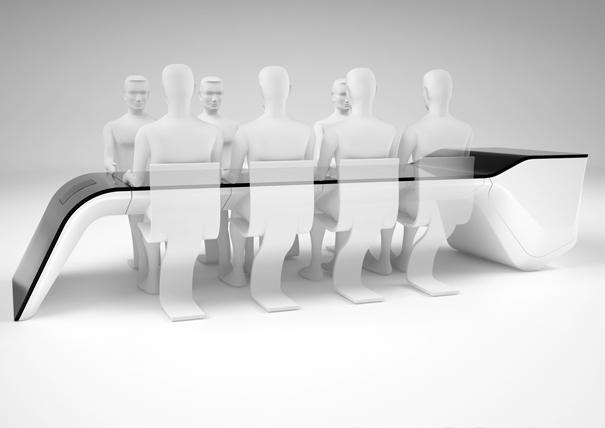 Люди у стола