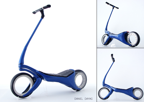 Urban Scooter by Daniel Dayag