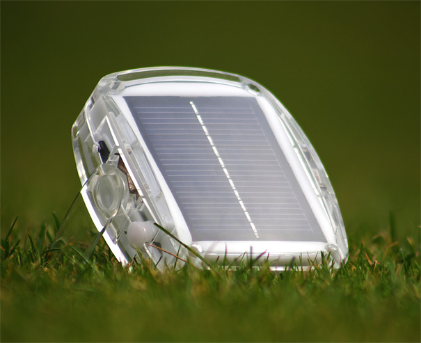 Solar Pebble - Solar Powered Lamp by Adam Robinson for Plus Minus Solar