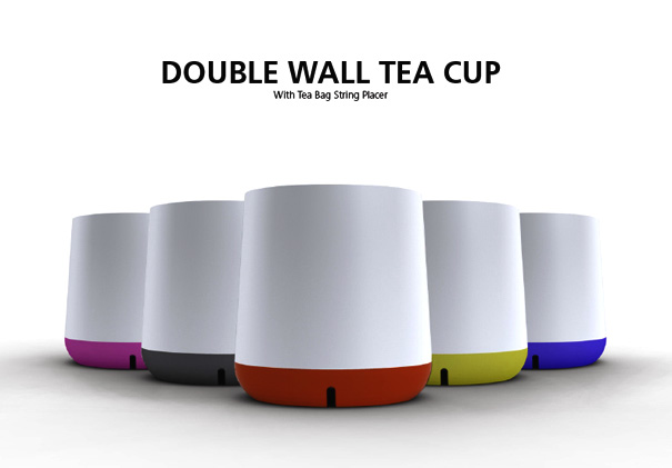 Double Walled Tea Mug by Endrit Hajno