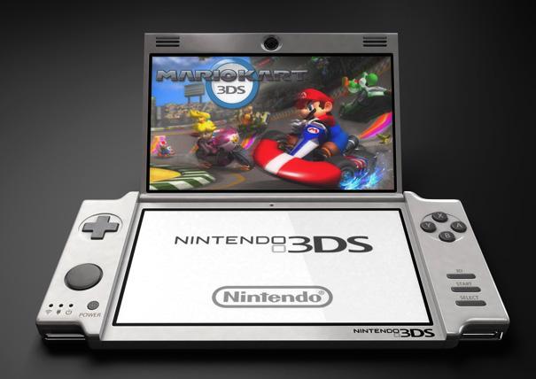 Nintendo 3DS Concept by Olivier Demangel