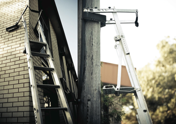 Safety Extension Ladder by Martin Gibson