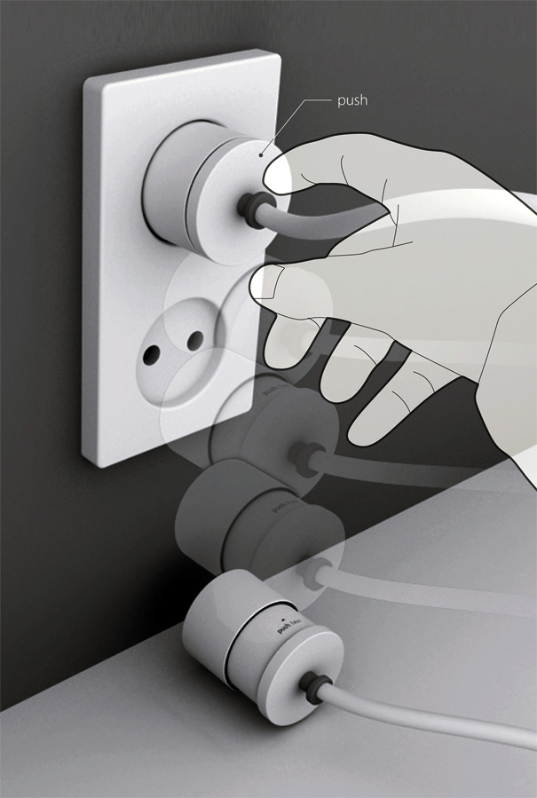 Tok Took Power Plug by Soon Mo Kang