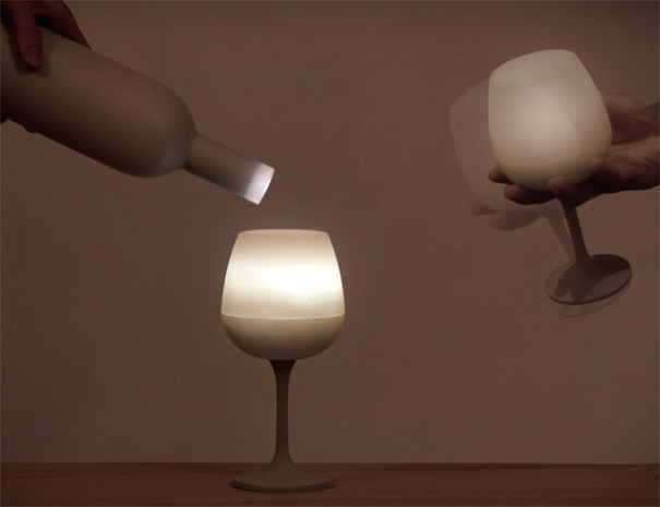 Light Sommelier Interactive Lamp by Seungyoub Oh of Studio Dotdotdot