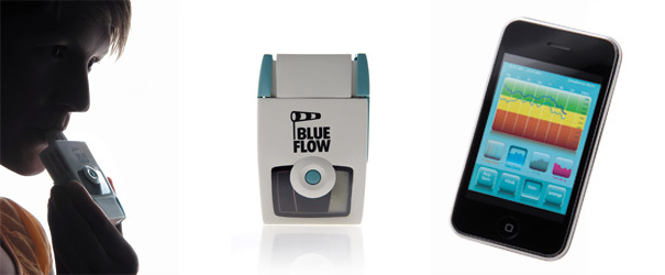 BlueFlow System for the treatment of bronchial asthma patient by Felix Steinhardt