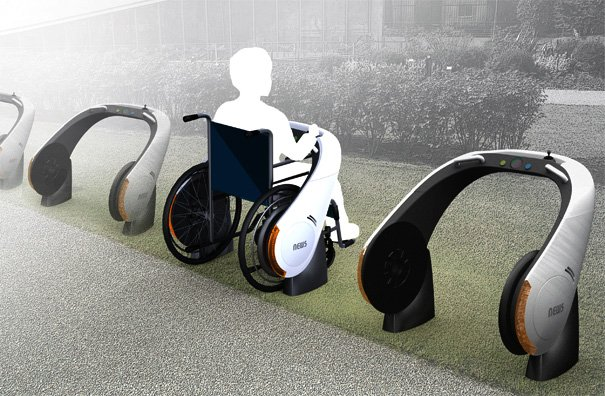 NEWS- New Electric Wheelchairs by Ju Hyun Lee