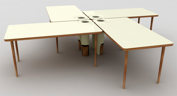 La Gota Table - Rubbish Table! by Timothy Emmott