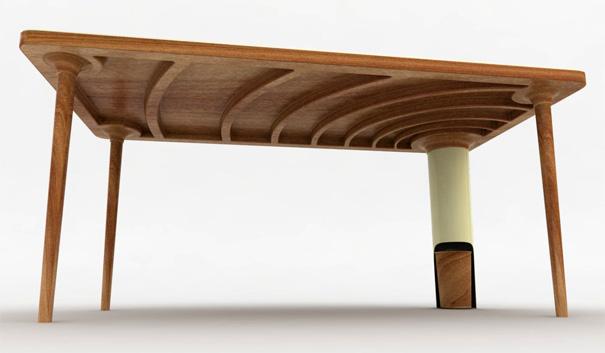 Rubbish Table!  Yanko Design