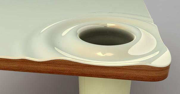 纸团,纸屑,从桌面就可以直通垃圾桶