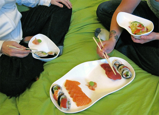 Lapware - Dishes For The Lap by Andrea Marin