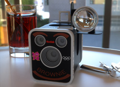 Kodak Brownie Revived For The 2012 Olympics
