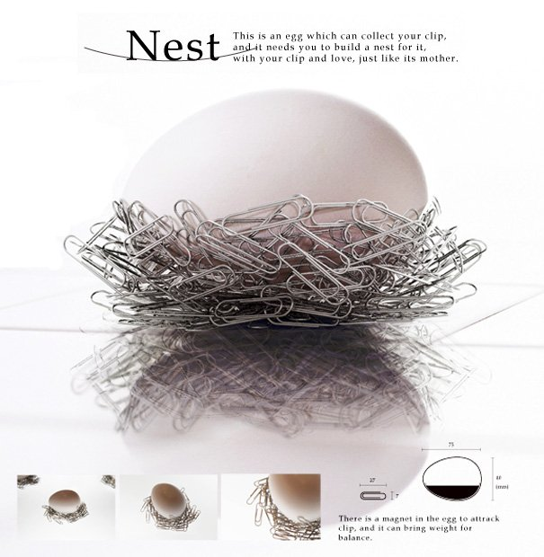 Nest - Magnetic Clip Collector by Feng Cheng-Tsung & Wang Bo-Jin