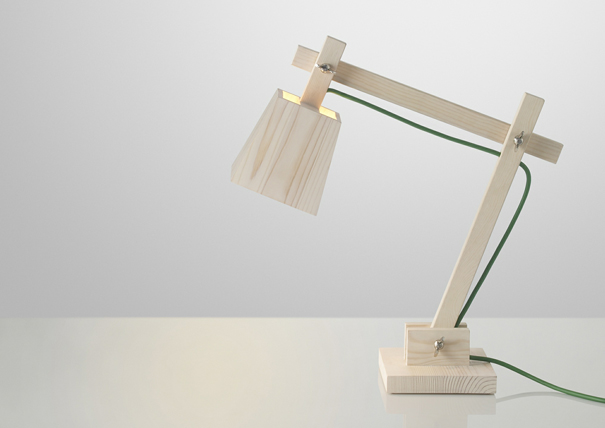 Wood Lamp by TAF for Muuto