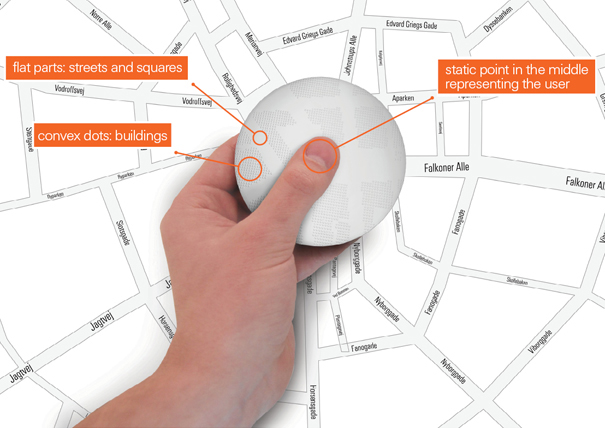 DROP GPS device for the blind by Allan Sejer Madsen and Lukasz Natkaniec