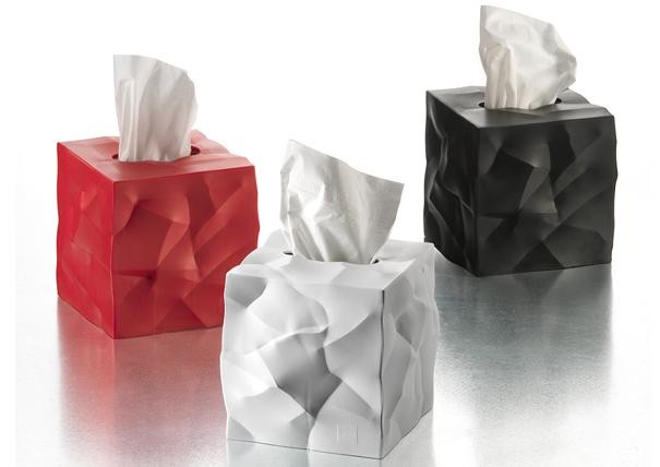 Crumply Box, Crumply Tissue   Yanko Design