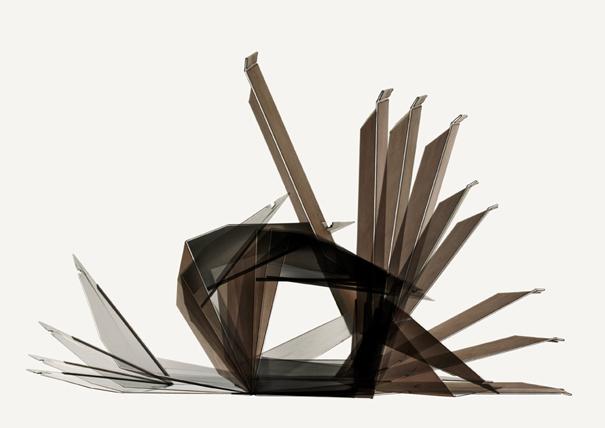Faltsessel aka folded lounge chair von Arne Amtsfeld for DUA