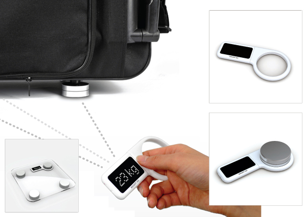 Weight2Go versatile scale for weighing odd objects by Jaeseok Han