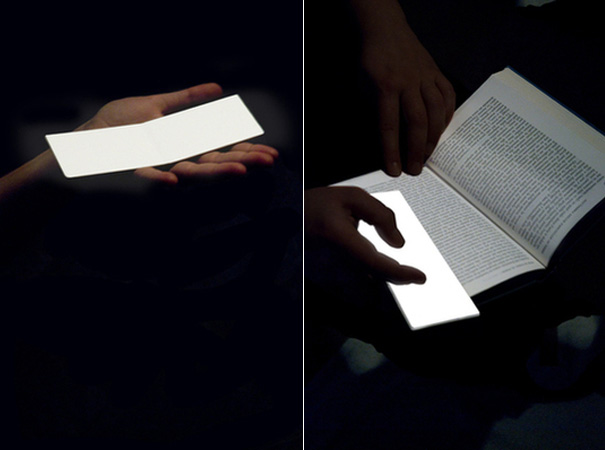 Lightleafs - Lamp Bookmarker by Valentina Trimani