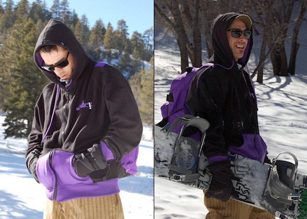 Swack! Sweater Plus Backpack Combination by Terence Simmons