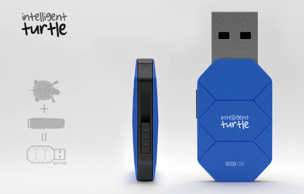 Intelligent Turtle USB Stick by Emir Rifat ISIK