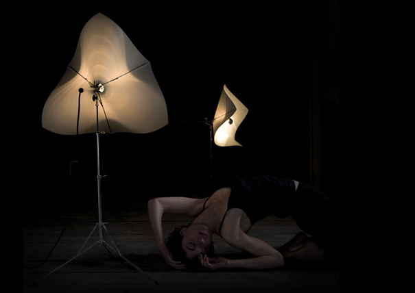 Lichtnote aka light note music stand for light by Tobias Juretzek for DUA
