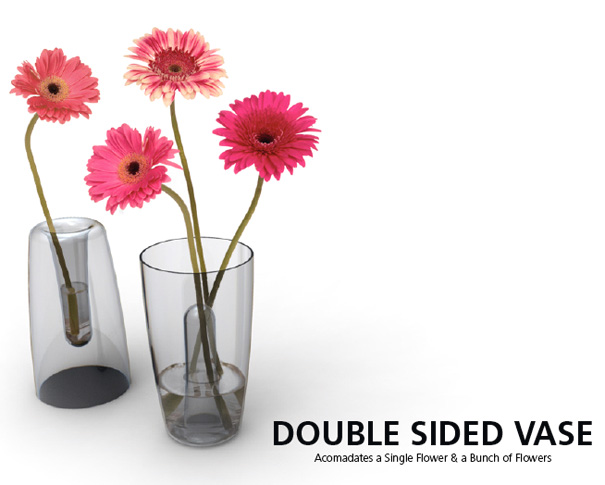 Double Sided Vase by Endrit Hajno